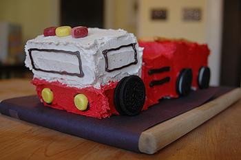 firetruckcake